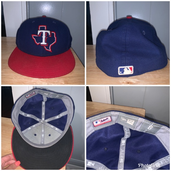 Other - Men's Texas Rangers hat size 8